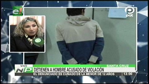 Sujeto es acusado de abusar sexualmente de su cuñada de 12 años