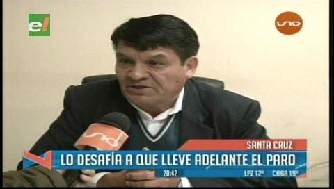 Director de Educación no renunciará y amenaza con descuentos a los maestros