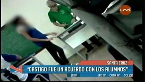 Santa Cruz. Castigo de profesor a sus alumnos desata polémica en RRSS