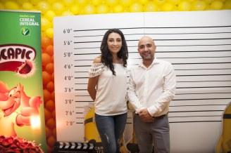 Sandra Cortéz y Luis Alarcón