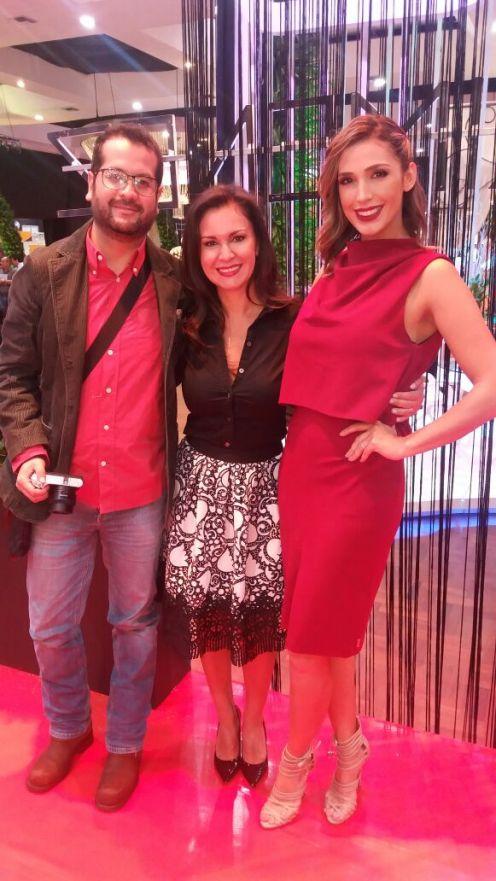 Pato Romay, Jimena Ximenez y Desireé Durán