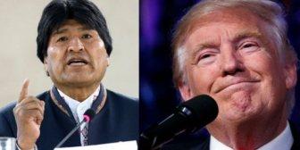 "Evo y su ""cumbre anti-Trump"""