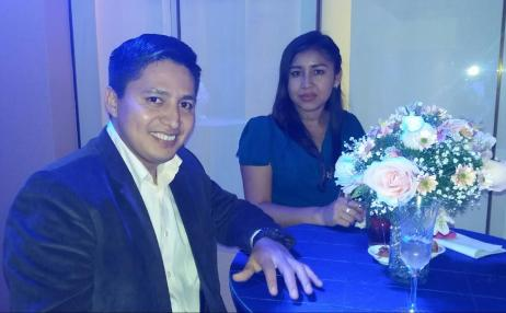 Reinal Flores y Magaly Cespedes