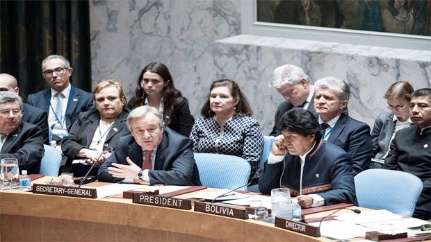 Resultado de imagen de Bolivia asumirá en septiembre una Vicepresidencia de la Asamblea General de la ONU