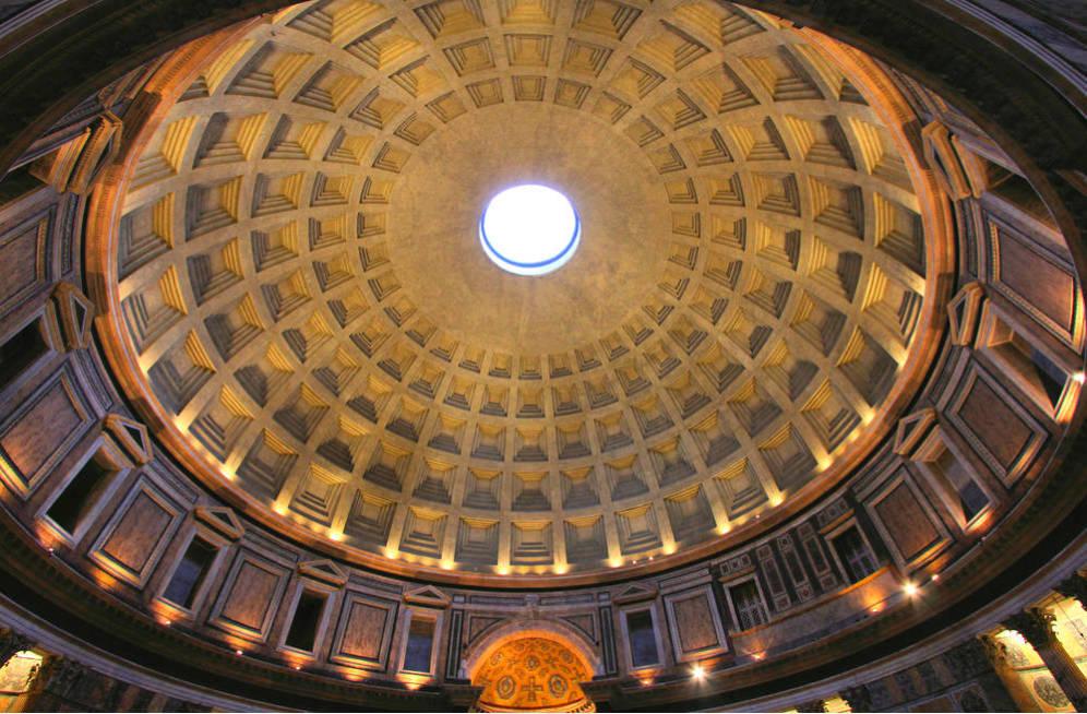 Foto: El Panteón de Agripa o Panteón de Roma, en la capital italiana.