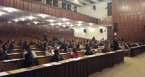 El examen escrito que cumplen los aspirantes al Consejo de la Magistratura y del Tribunal Agroambiental.
