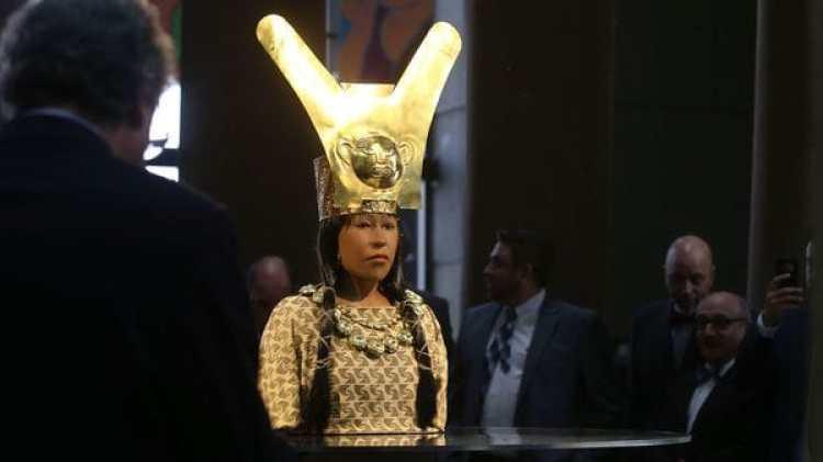 La reproducción de la Dama de Cao (EFE)