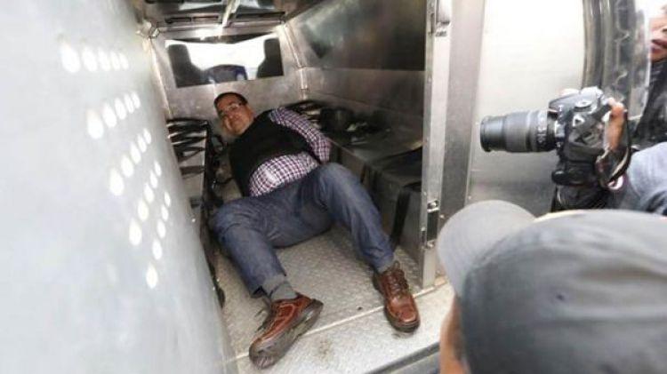 Javier Duarte espera la extradición a México