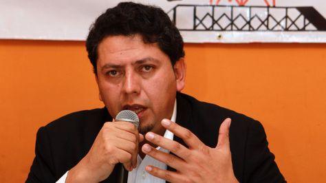 El presidente Ejecutivo de YPFB, Óscar Barriga.