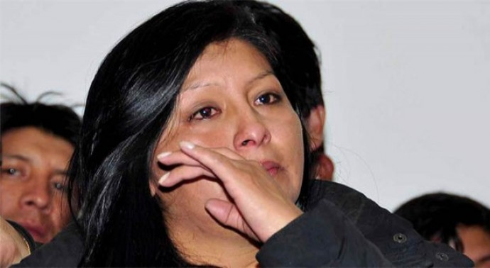 La alcaldesa de El Alto, Soledad Chapetón. FOTO: Internet