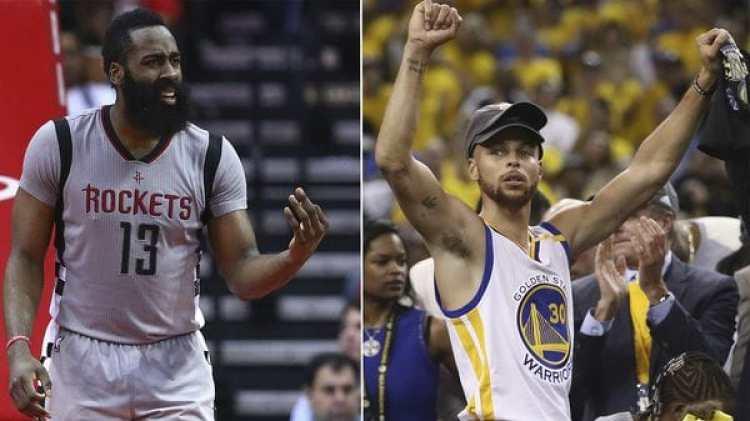 James Harden destronó a Stephen Curry y es el mejor pagado de la historia de la NBA (Getty)