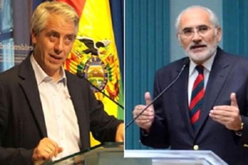 Resultado de imagen para Garcia Linera vs Carlos Mesa