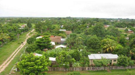 Una vista de la población Ixiamas en la provincia Abel Iturralde.