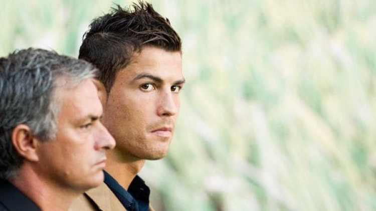 Moruinho entrenó a Ronaldo entre 2010 y 2013