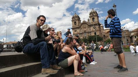 Turistas estadounidenses en Santa Cruz. Foto: Internet