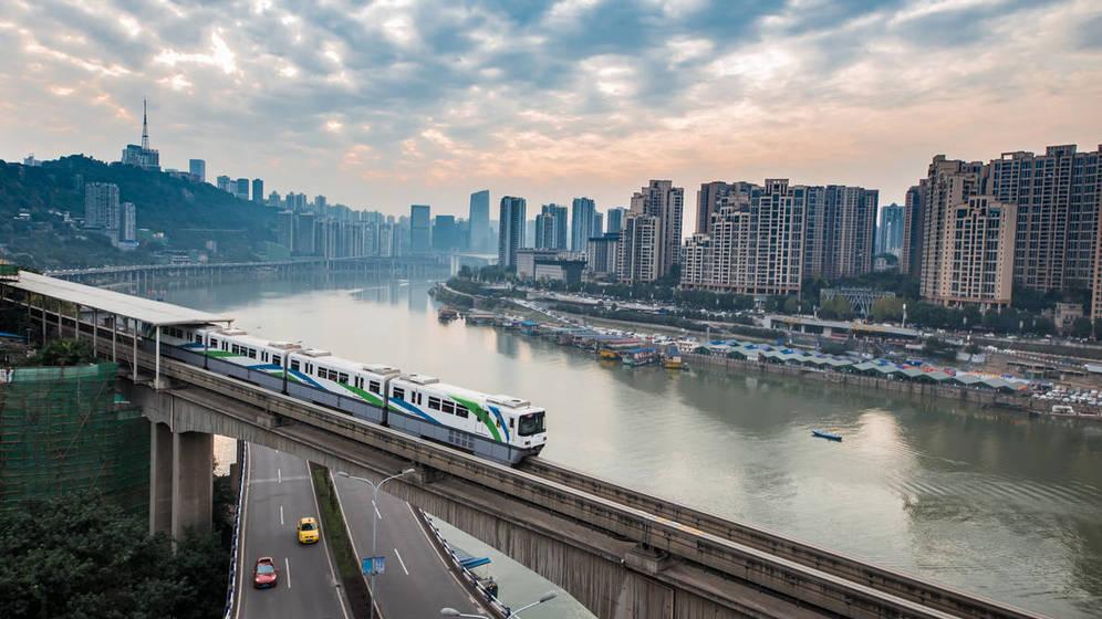 Foto: Un pequeño trayecto para el tren, un gran paso para la humanidad. (iStock)