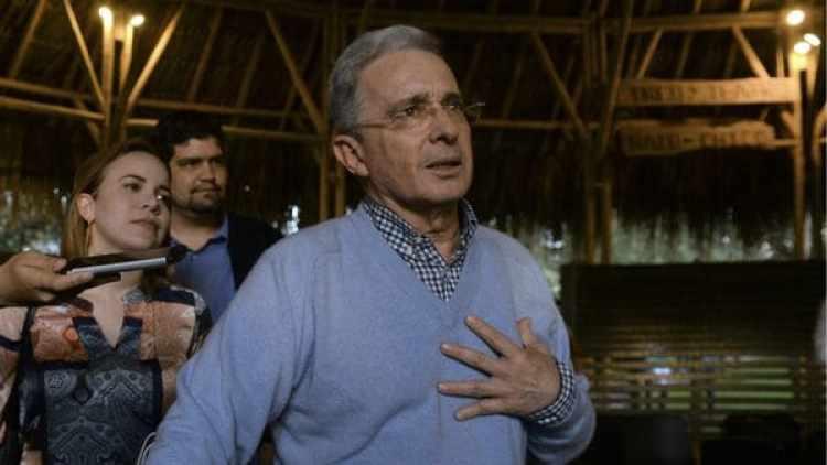 Álvaro Uribe (AFP)