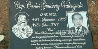 Colocan placa en memoria del policía asesinado en Eurochronos