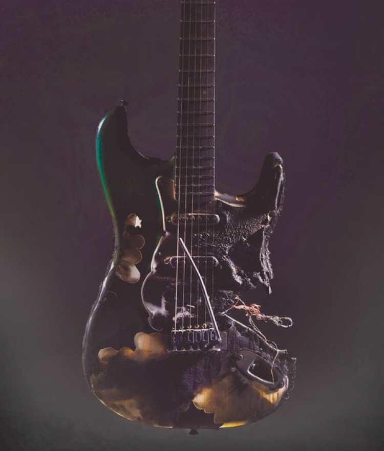 Imagen para ilustrar cómo la guitarra ha caído en desgracia (The Washington Post/Marvin Joseph)