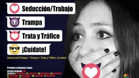Banner de la campaña lanzada por la Defensoría del Pueblo
