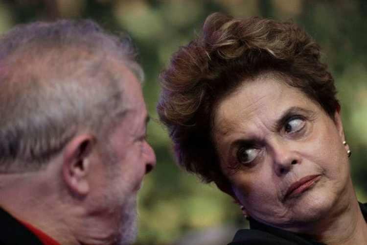 Lula da Silva y Dilma Rousseff, la ex presidenta de Brasil removida por Juicio Político(Reuters)