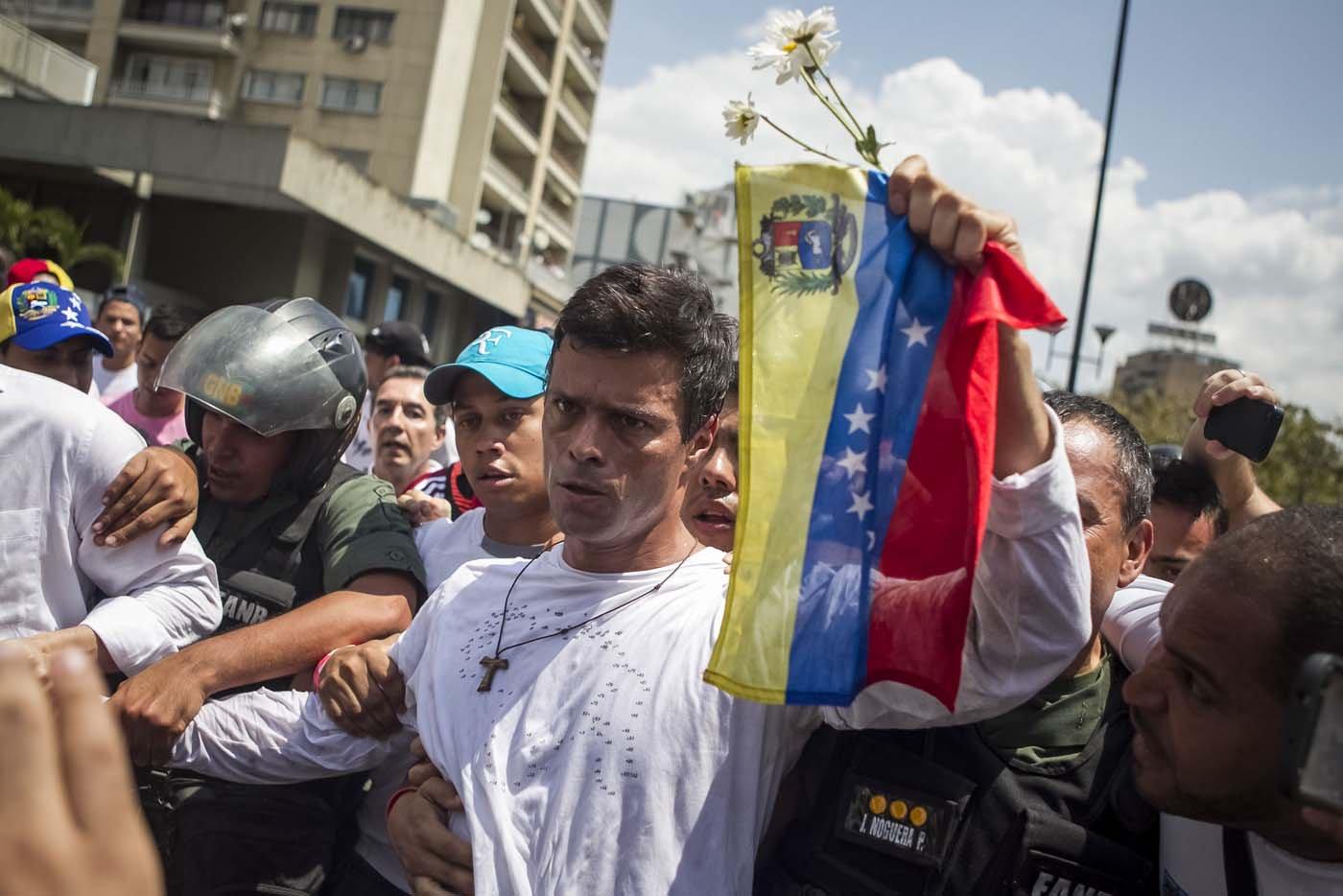 VENEZUELA: Leopoldo López pider actuar a la comunidad internacional ante la represión