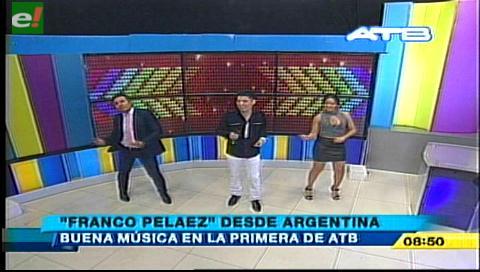 Franco Peláez hace bailar a todos con su cumbia