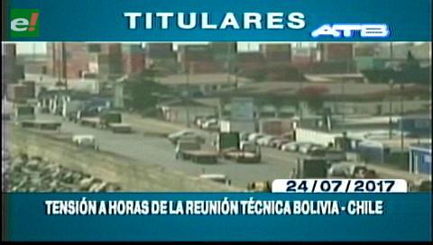 Video titulares de noticias de TV – Bolivia, mediodía del lunes 24 de julio de 2017