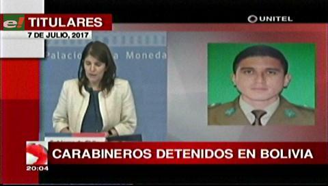 Video titulares de noticias de TV – Bolivia, noche del viernes 7 de julio de 2017