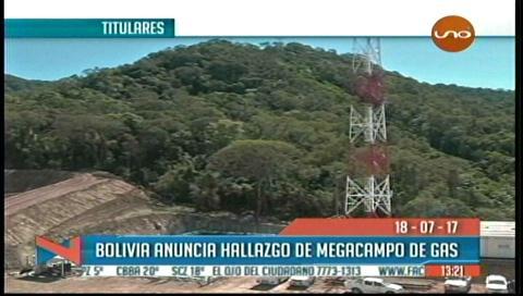 Video titulares de noticias de TV – Bolivia, mediodía del martes 18 de julio de 2017
