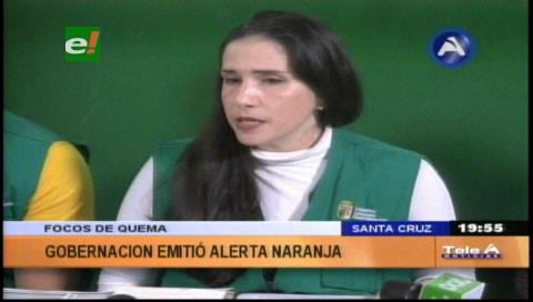 Santa Cruz: Alerta naranja por riesgo de incendios forestales