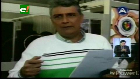 Ernesto Suárez presenta demanda penal contra dos vocales del Beni