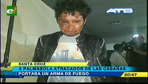 Condenado a 6 años de cárcel: Cae exreo que atracaba por Las Cabañas del Piraí