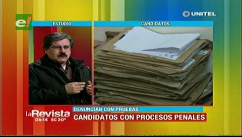 Rector de la UMSA dice que candidatos judiciales con antecedentes fueron habilitados