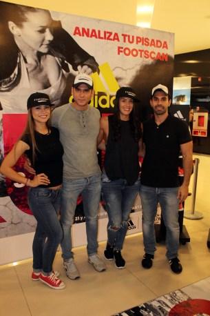 Talia Vargas, José Antonio Anachuri, Ursula Cabrera, Carlos Delfin (Team Terbonova).JPG