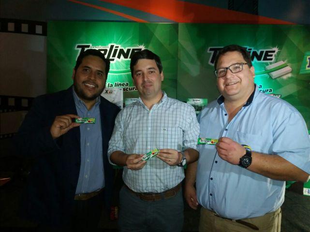 Emiliano Llorente, Pablo Candano, Luis Esteban Queirolo