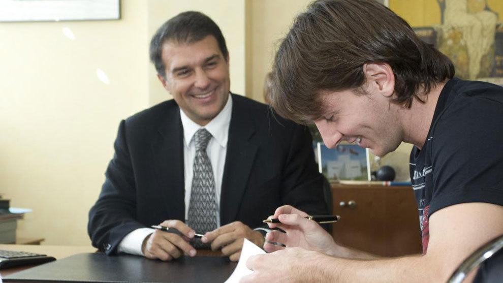 Laporta pide echar a Bartomeu para que continúe Messi