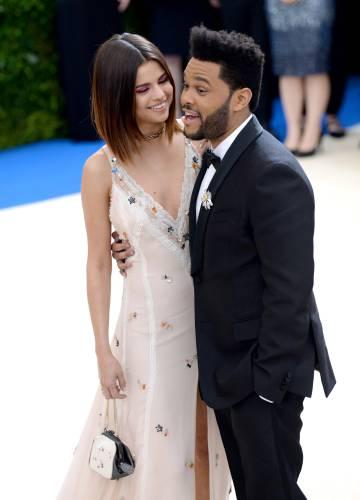 Selena Gómez y The Weeknd el pasado 1 de mayo.