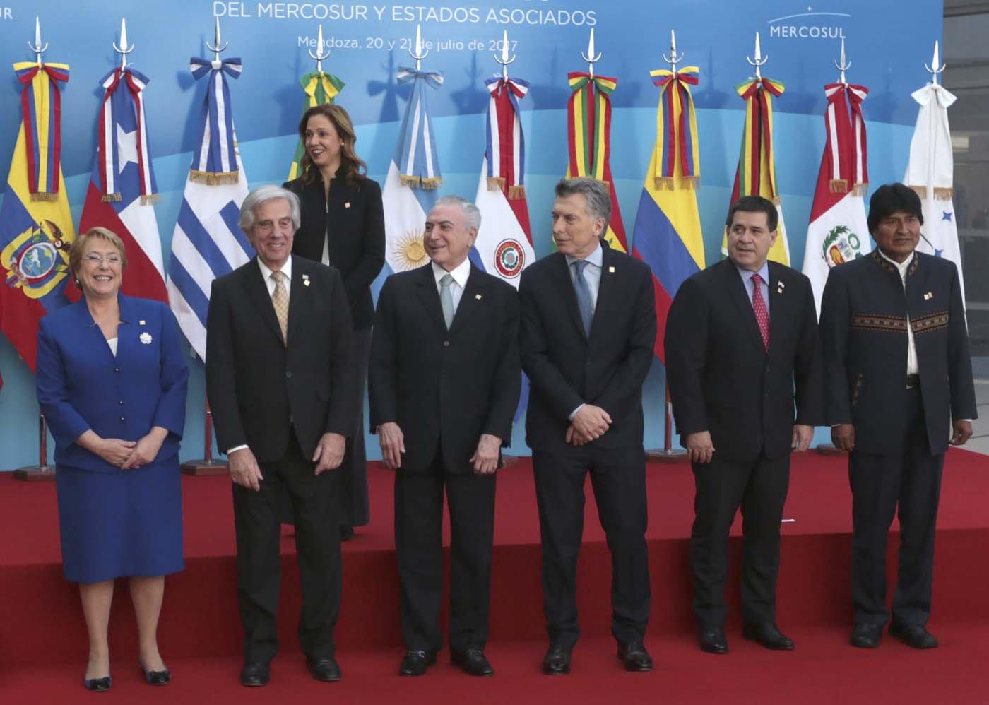Macri, por la suspensión de Caracas del Mercosur