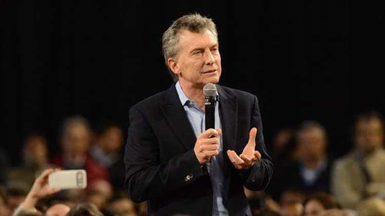 Mauricio Macri, presidente de Argentina (Télam)