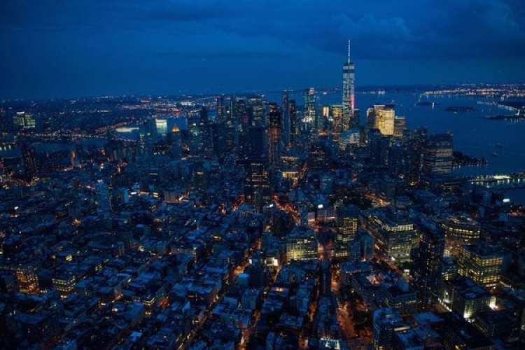 One World Trade Center en Lower Manhattan (Foto: Bloomberg, Craig Warga)