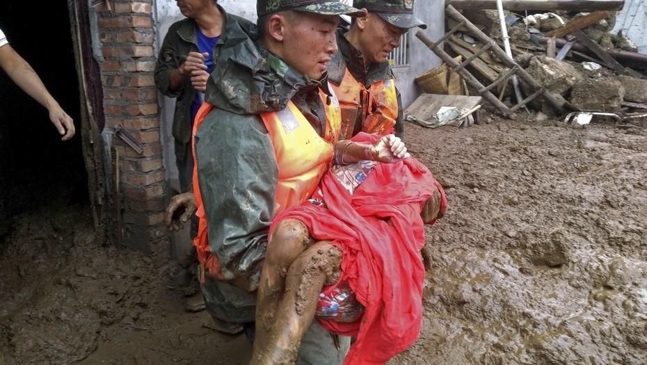 Terremoto de 7.0 grados sacude a China