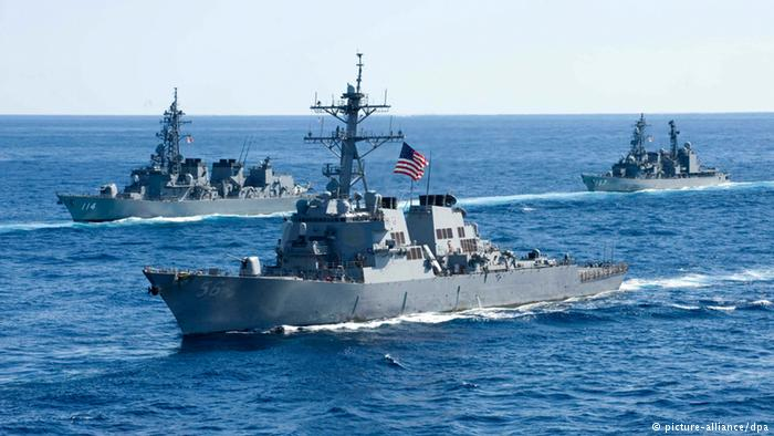 USA Zerstörer USS John McCain (picture-alliance/dpa)