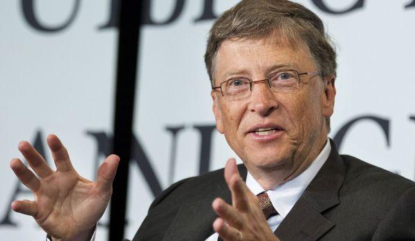 Bill Gates regaló 64 millones de sus acciones en Microsoft