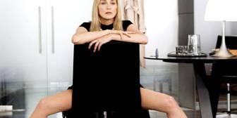 Sharon Stone comparte material inédito de su audición para 'Instinto Básico'