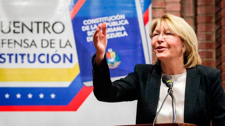 Ex fiscal venezolana Luisa Ortega llega a Bogotá buscando refugio