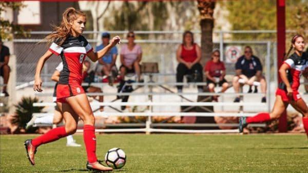 Las Vegas: La futbolista universitaria que alcanzó la fama por sus fotos en Instagram