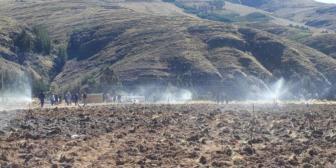 Morales entrega sistema de riego en Alalay y garantiza construcción de presa
