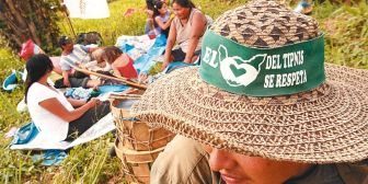 La marcha indígena por el territorio se transforma en eterna