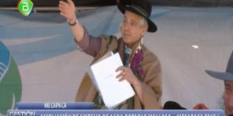 García Linera calificó de racistas las protestas por la premiación de la CLACSO a Evo Morales
